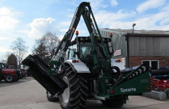 NEW SPEARHEAD 555 HEDGECUTTER